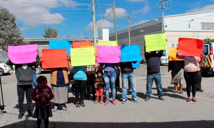Protestan por instalación de gasolinera en Tehuacán