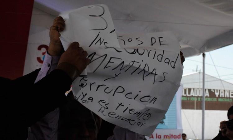 Rinde informe Rafael Núñez