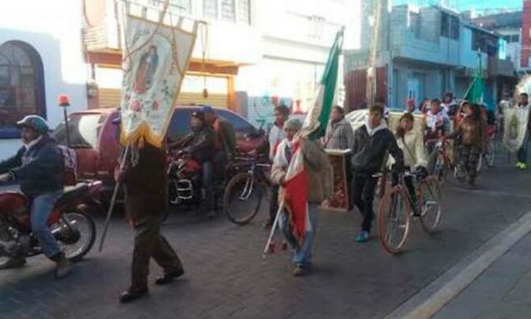 Reforzará vigilancia en Tecamachalco por peregrinaciones de ciclistas