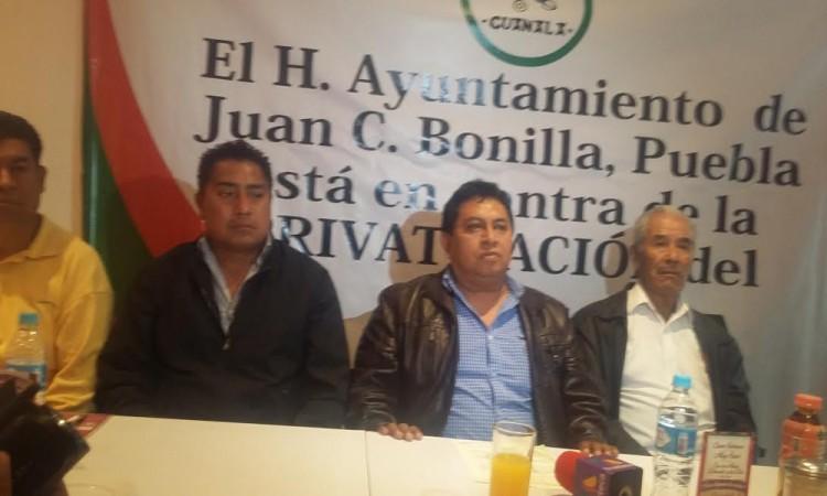 Niega alcalde apoyar privatización del agua