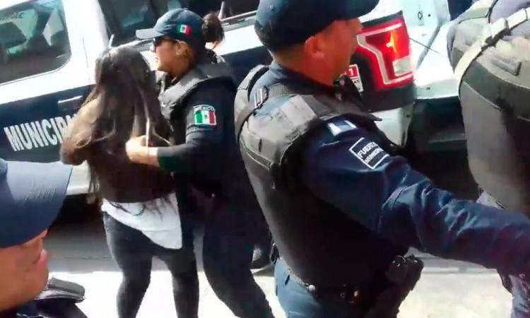 Indaga FGE presunto abuso de policías