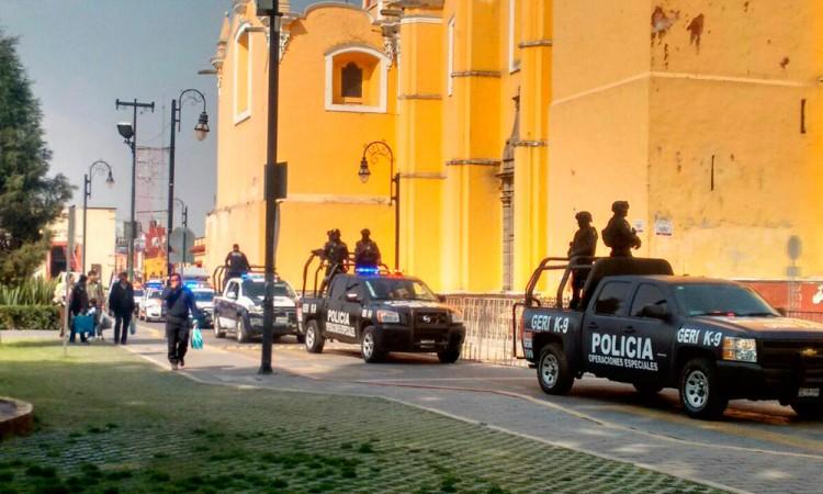 Saldo blanco en San Pedro Cholula por Guadalupe-Reyes