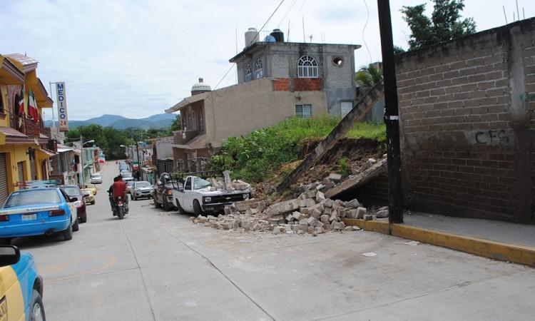 Reconstrucción en Tehuitzingo, lenta
