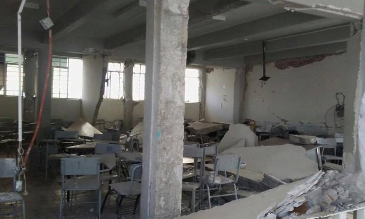 Escuelas, a la esperan de ser rehabilitadas