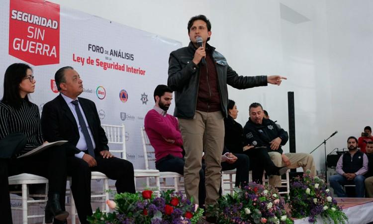 Suspende Sedena convenio con Cholula por controversia constitucional