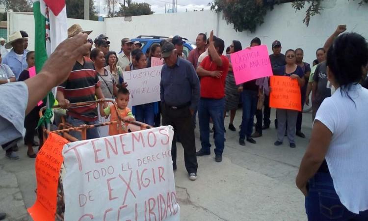 Exigen seguridad al presidente municipal de Tehuitzingo