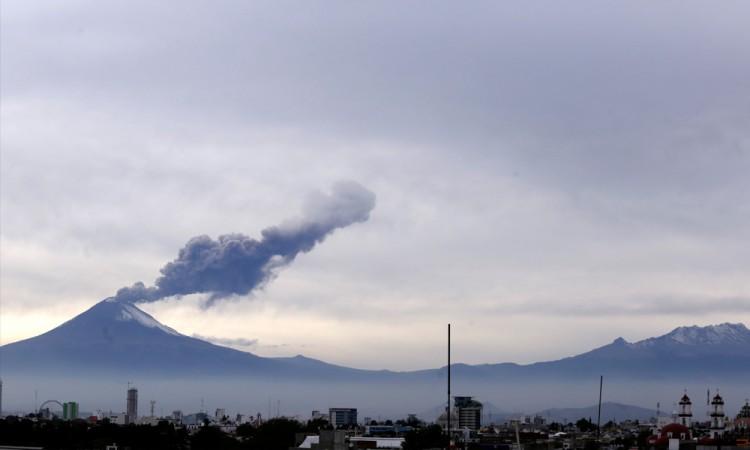 Chiautzingo, en alerta por clima y volcán