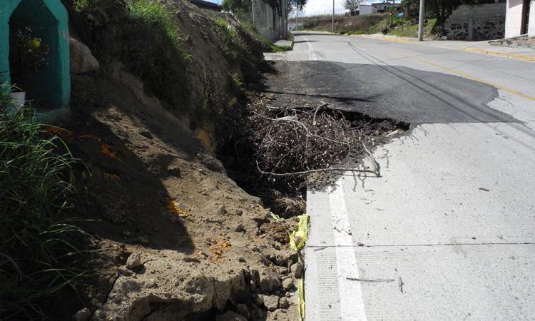 Evalúan rutas de escape del volcán Popocatépetl