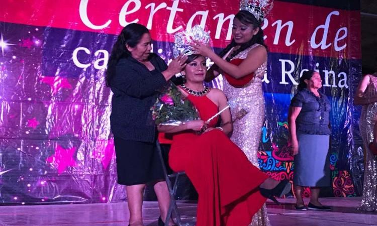 Eligen reina de la Feria Tecomatlán