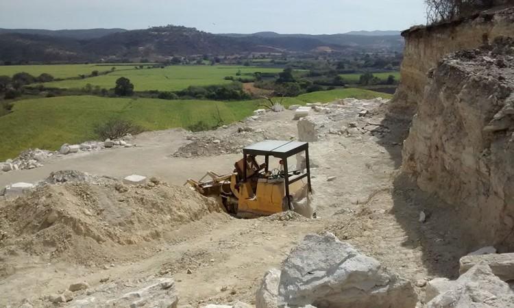 Ratifican clausura de banco de extracción en Xochiltepec