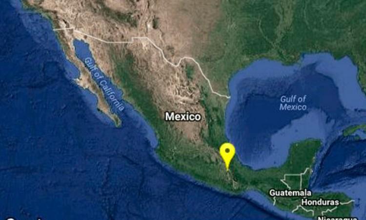Reportan sismo de 4 grados en San Gabriel Chilac