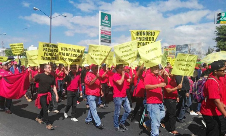 Realizan marcha por la dignidad en Tehuacán