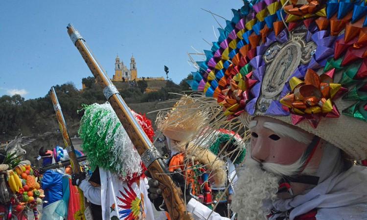 Culmina carnaval de San Pedro Cholula con saldo blanco