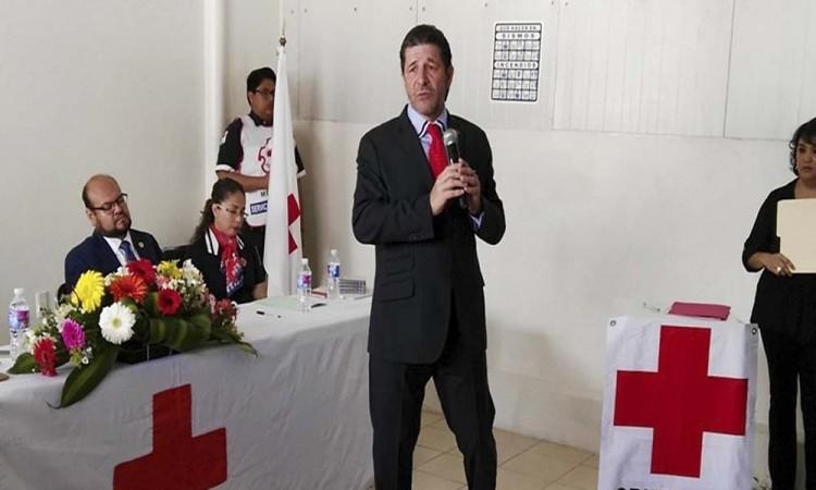Reconstruirá Cruz Roja inmuebles dañados por 19-S