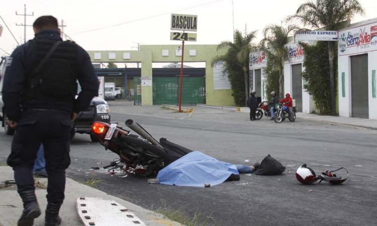 Se disparan 500% accidentes en moto