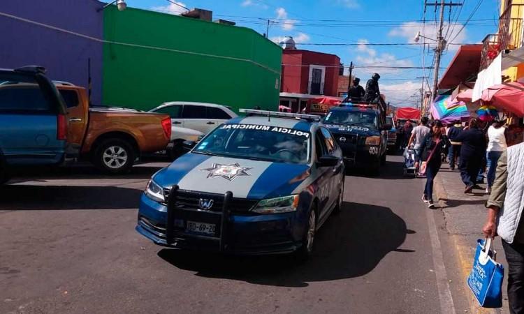 Un detenido y pirotecnia decomisada saldo en San Pedro Cholula