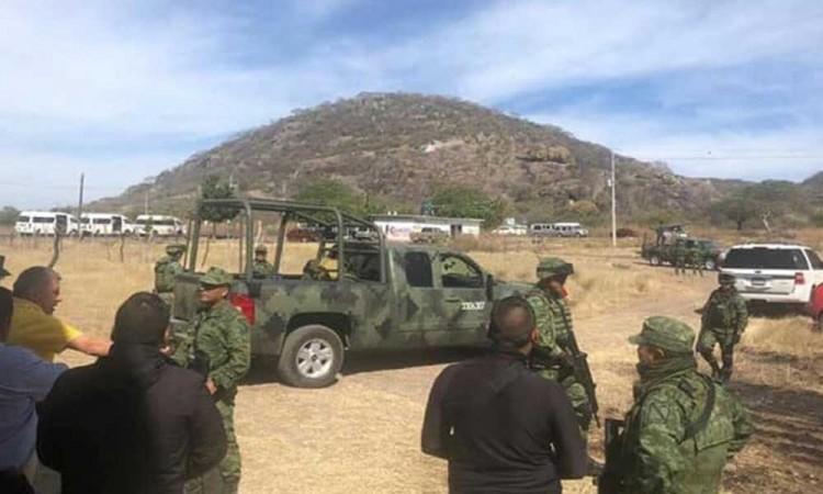 Se instala la Guardia Nacional en la Mixteca