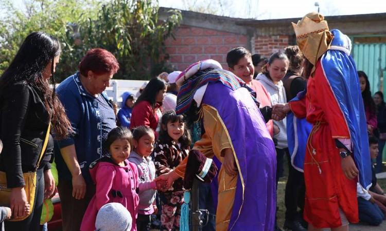 Festejo llega a comunidades marginadas de Chignahuapan