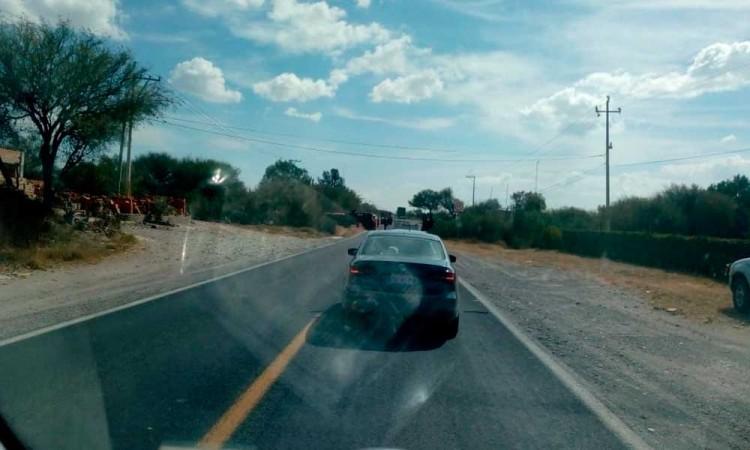 Piden retén permanente en carretera federal