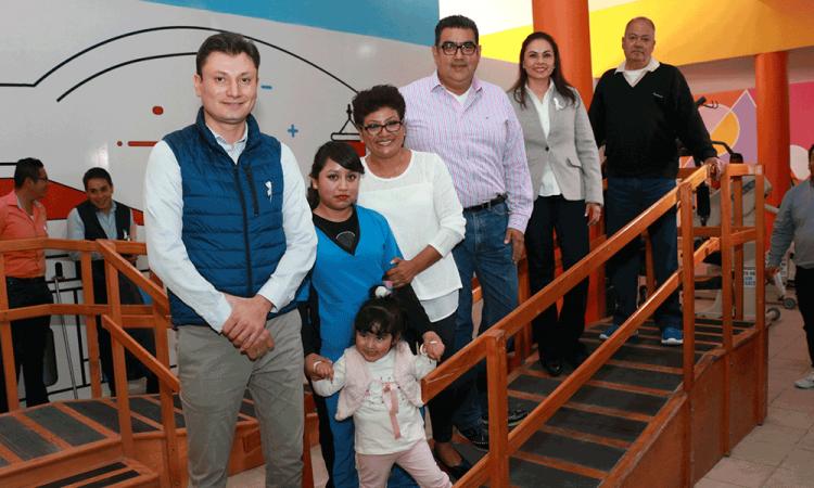 SEDIF remodela Centro de Rehabilitación Integral de Tepeaca
