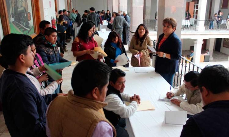Se registran aspirantes para juntas auxiliares en Teziutlán