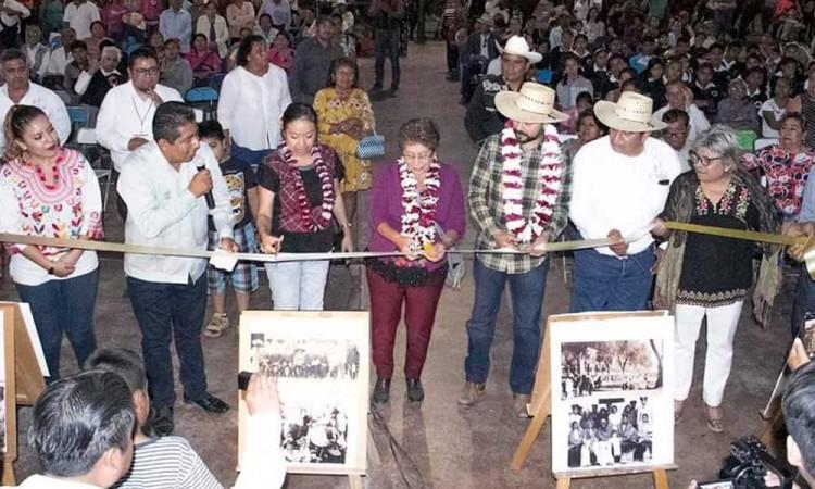 Visita Acatlán bisnieto de Zapata; agradece homenaje al Caudillo del Sur