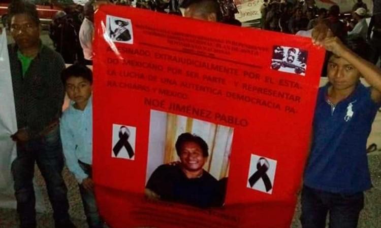 Exigen justicia para activista poblano