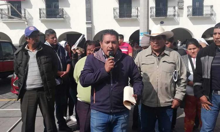 Acusan opacidad en plebiscitos de Huejotzingo