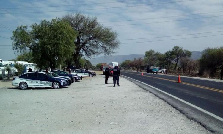 Piden maestros seguridad en la Puebla-Tehuacán