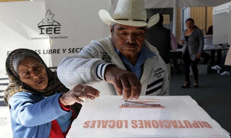 Registran participación de 20% en San Pedro Cholula