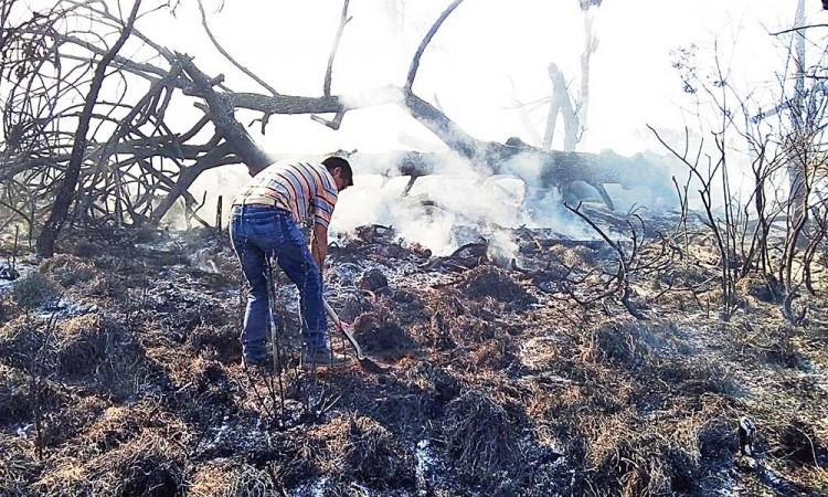 Alertan por casos de incendios en Chignautla