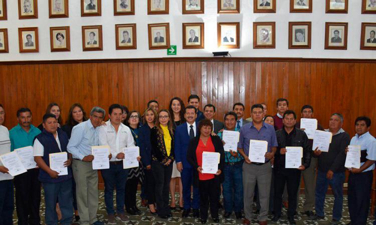 Trabajará Luis Alberto con ediles electos a juntas auxiliares