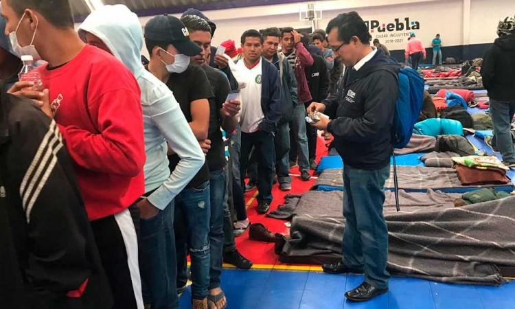 CDH atiende a 1100 migrantes en Texmelucan