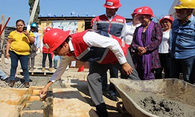 Arranca la construcción de la Cruz Roja en Izúcar