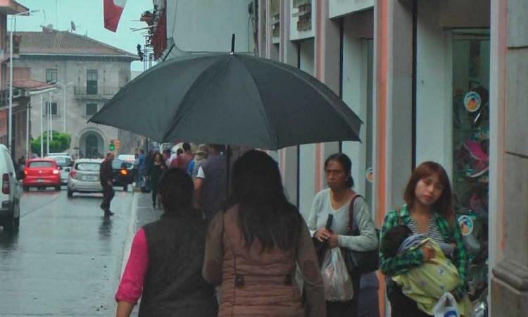 Por frente frío 35 emiten alerta en 126 municipios de Puebla