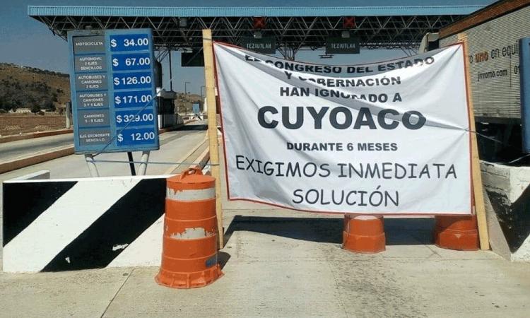 Toman caseta de Payuca como protesta