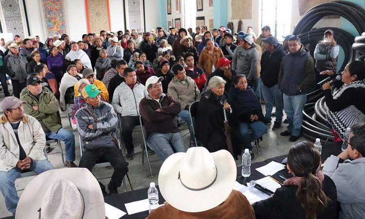 IEE realiza consulta indígena en San Pablito