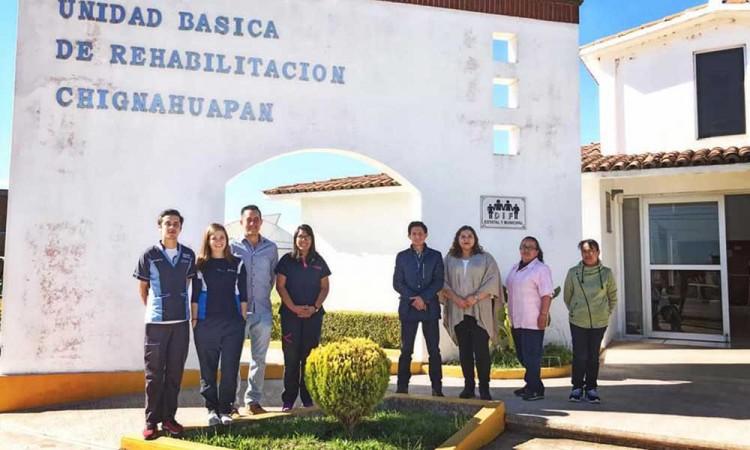 Gestionan centro de rehabilitación integral del DIF en Chignahuapan