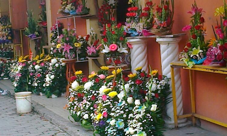 En Tecamachalco suben precio de flores 50% para el 14 de febrero