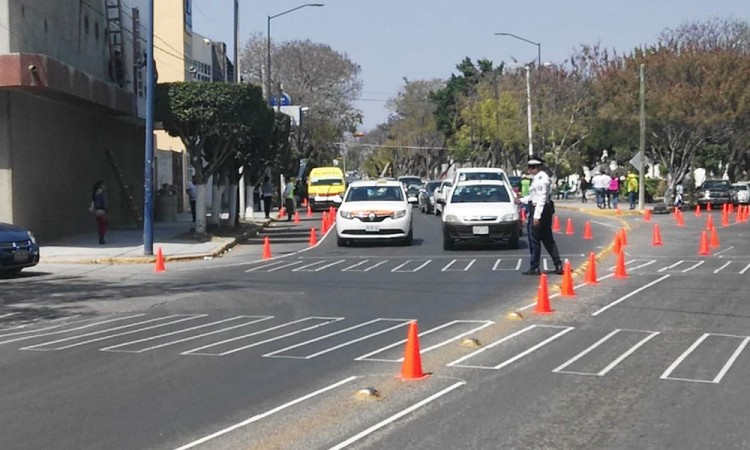 Buscan reducir accidentes viales en Tehuacán con programa de urbanismo táctico