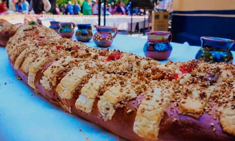 ¡Prepárate! Alistan Rosca de Reyes de 50 metros en Tochimilco