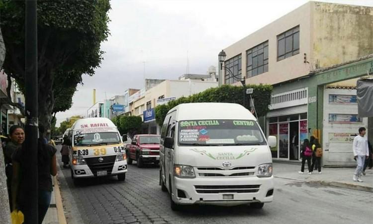 Transporte en Tehuacán, sin tener mejoras en seguridad
