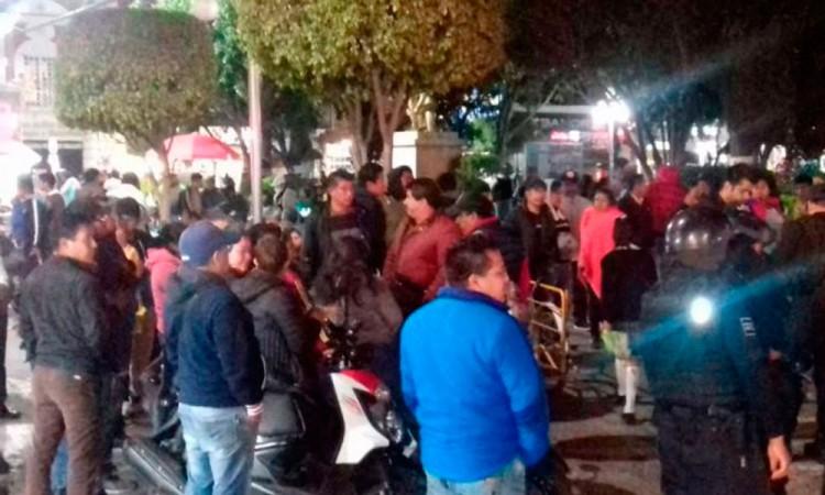 Federación de Comerciantes de Texmelucan descalifica acusaciones contra líderes