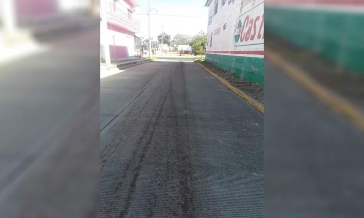 Acusan a rastro por dejar sangre en la calle de Izúcar