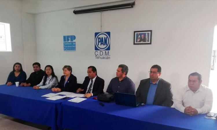 Denuncia el PAN subejercicio de 147 mdp en Tehuacán