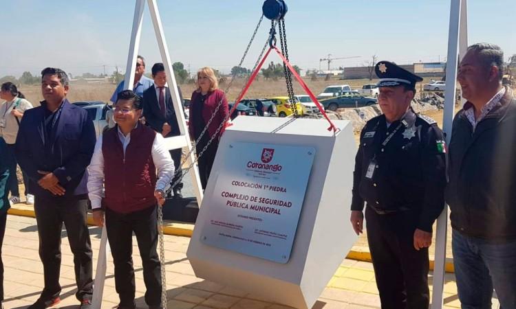 Complejo de Seguridad en Coronango costará 12 mdp