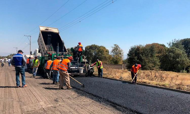 Rehabilitan rutas de evacuación del volcán Popocatépetl