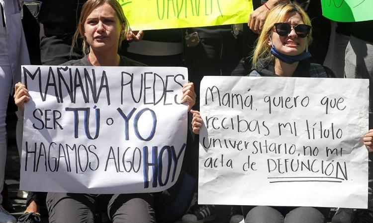 Campus Atlixco se suma a manifestación BUAP