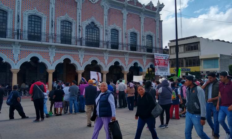 Tehuacán se suma al paro nacional del 9 de marzo