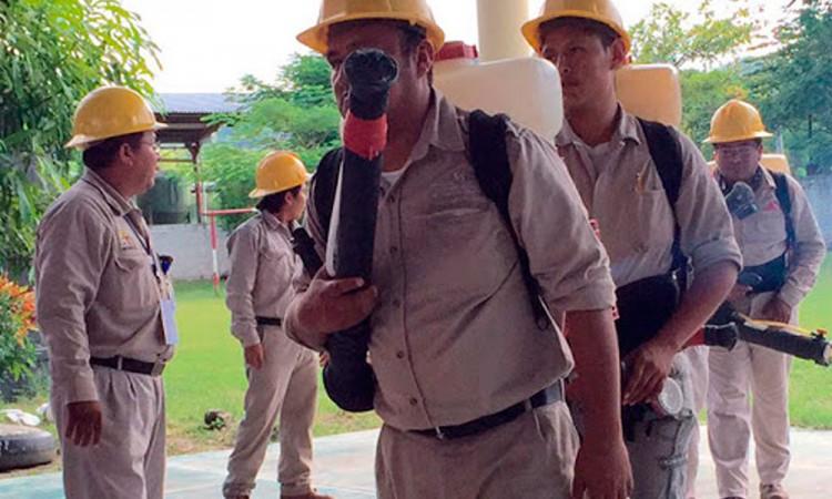 Vectores van a paro laboral por falta de pagos en Izúcar